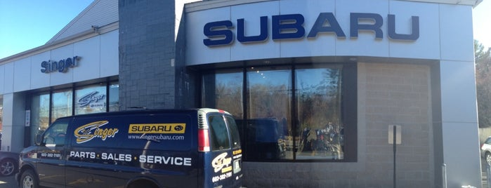 Singer Subaru is one of Subaru of New England Dealers.