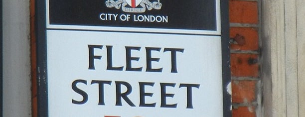Fleet Street is one of Lola's Londón.