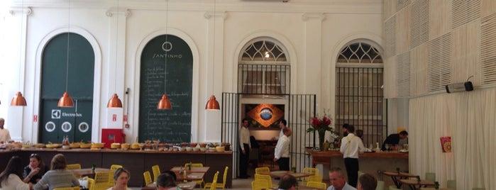 Santinho is one of Minha experiência gastronômica II.