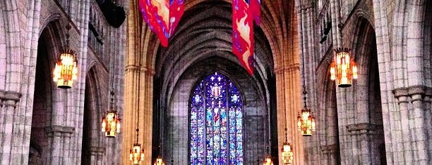 Princeton University Chapel is one of Home Sweet Home.