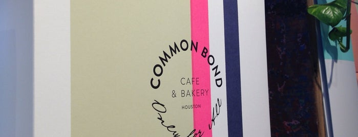 Common Bond Cafe & Bakery is one of Lieux qui ont plu à Cusp25.
