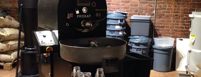 Elm Coffee Roasters is one of Posti che sono piaciuti a Cusp25.