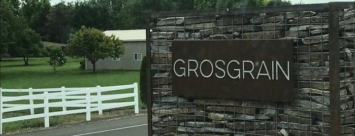 Grosgrain Vineyards is one of Lieux qui ont plu à Cusp25.