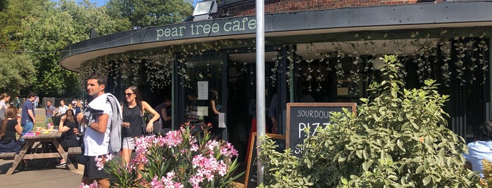 Pear Tree Cafe is one of Frankie Friendly.