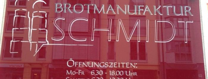 Brotmanufaktur Schmidt is one of Essen.