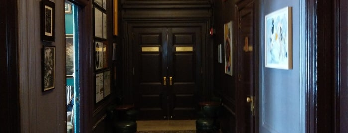 The George Washington Bar is one of Tempat yang Disukai Emily.