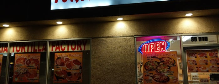 Taqueria Tortilla Factory is one of My desert Mexican food list.