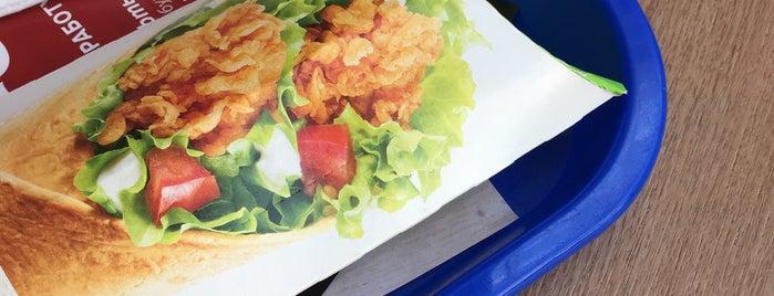 KFC is one of Tempat yang Disukai Kate.