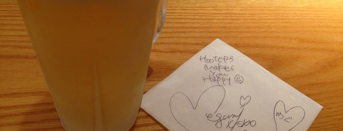 Hooters is one of 気になる.