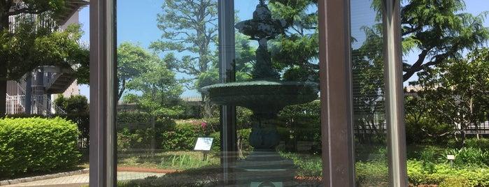 横浜水道創設記念噴水塔 is one of Lugares favoritos de Hideo.
