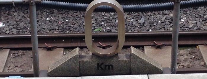 東海道本線・東北本線 0kmポスト is one of 東京駅0kmポスト.