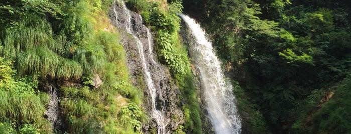 白銀の滝 is one of 銀山温泉.