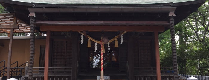 星川杉山神社 is one of Hideo'nun Beğendiği Mekanlar.