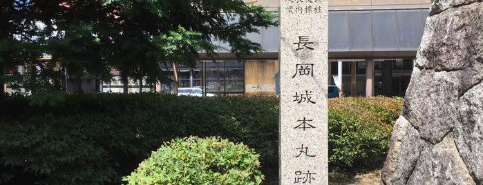 長岡城本丸跡 is one of 西郷どんゆかりのスポット.