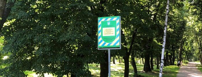 Парк «Сирецький гай» is one of สถานที่ที่ Annie ถูกใจ.