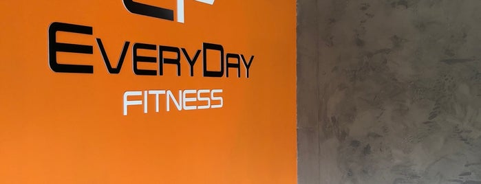 Every Day Fitness is one of Locais curtidos por Max.
