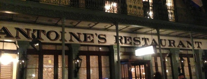 Antoine's Restaurant is one of Where to Eat & Drink in NOLA.