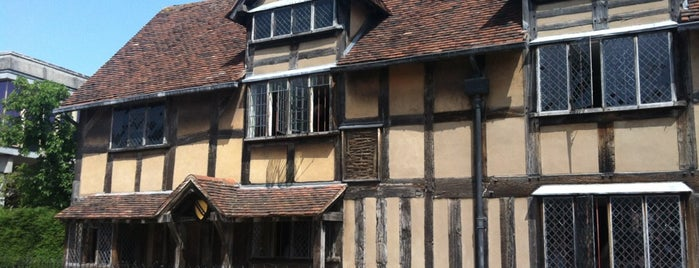 Shakespeare's Birthplace is one of Locais salvos de Analucia.