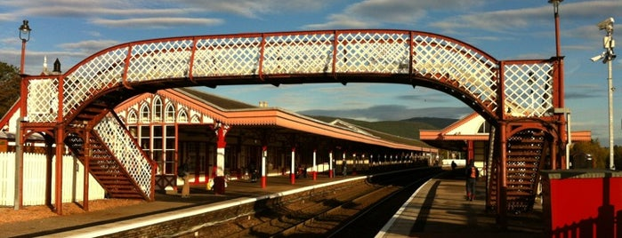 Aviemore Railway Station (AVM) is one of Highlights.