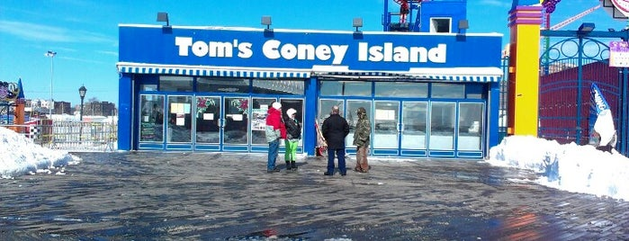 Tom's Restaurant is one of Must-See Coney Island.