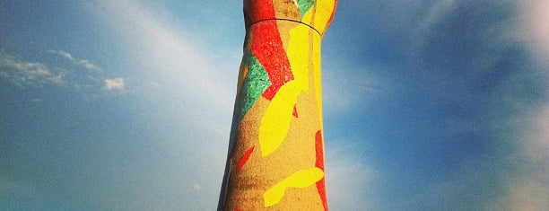 Parc de Joan Miró is one of MOB - Weekends for fun.