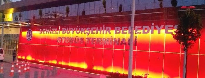 Denizli Şehirler Arası Otobüs Terminali is one of Orte, die BuRcak gefallen.
