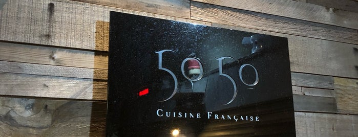 50/50 Cusine Français is one of 《臺北米其林指南》 2018 餐盤餐廳 MICHELIN Guide Taipei.