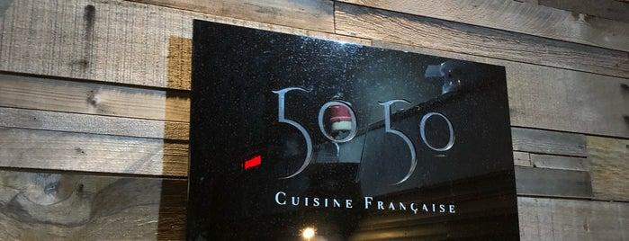 50/50 Cusine Français is one of 《臺北米其林指南》 2018 餐盤餐廳 MICHELIN Guide Taipei.