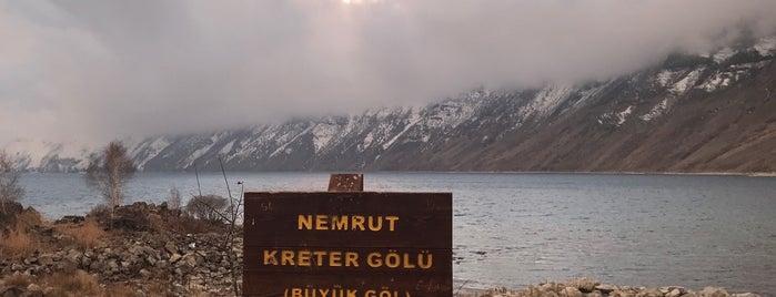 Nemrut Krater Gölü is one of Posti salvati di Hakan.