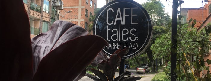 Café Tales is one of Medellin.