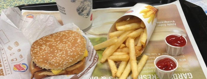 Burger King is one of Carlさんのお気に入りスポット.