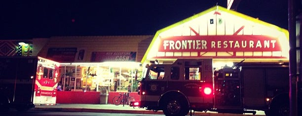 Frontier Restaurant is one of Locais curtidos por Simon.