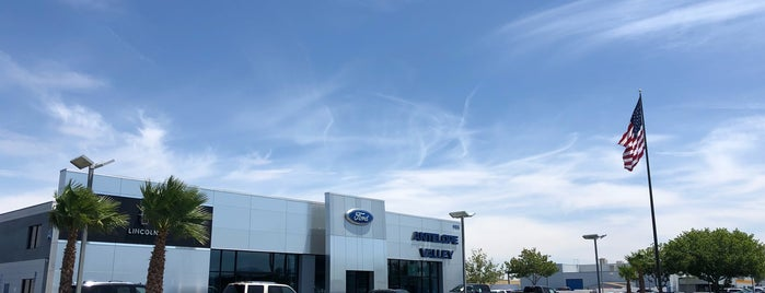 Antelope Valley Ford Lincoln is one of Gespeicherte Orte von Craig.