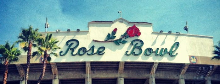 Rose Bowl Stadium is one of All Things Sporting Venues....