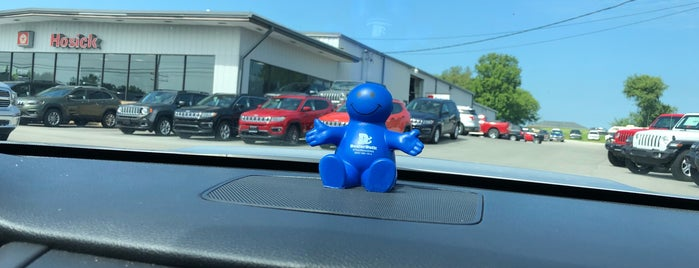Hosick Motors is one of Out and about.