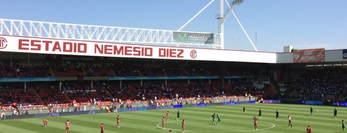 Estadio Nemesio Diez is one of Events To Visit....
