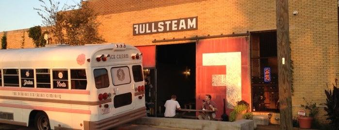 Fullsteam Brewery is one of Bull City Foodie Favorites.
