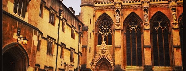 Exeter College is one of London Favorites.