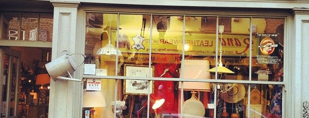 The Vintage Store is one of London shopping.
