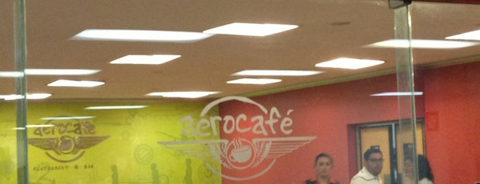 Aerocafé Restaurant & Bar is one of Posti che sono piaciuti a Elizabeth.