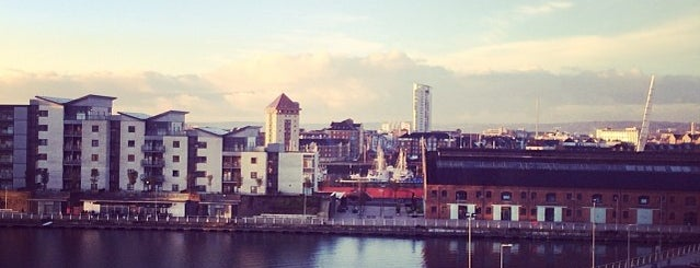 Premier Inn Swansea Waterfront is one of Went Before 5.0.