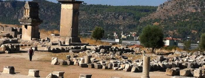Xantos Antik Tiyatrosu is one of * ECOTOURISM GUIDE *.