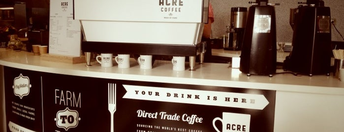 Acre Coffee is one of SF.