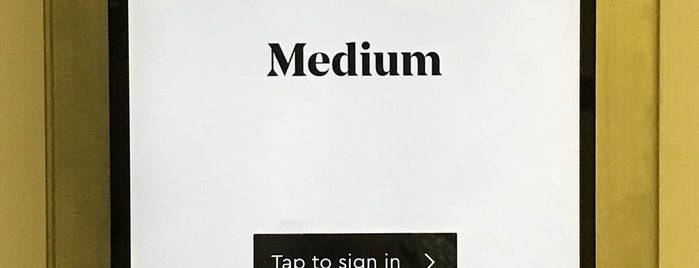Medium is one of Bay Area / Tech.