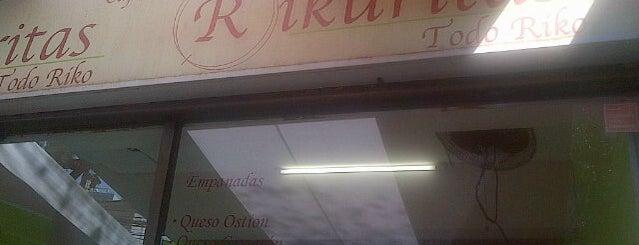 Rikuritas is one of Ruta de cafés, sandwich, almuerzos.