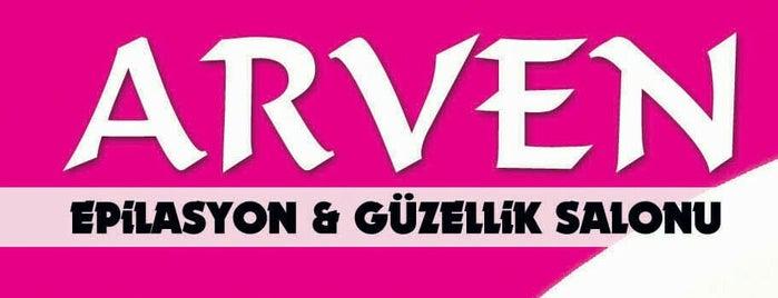 Arven Epilasyon & Güzellik Salonu is one of สถานที่ที่บันทึกไว้ของ Derya.