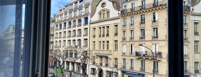 Hotel ibis Paris Avenue de la Republique is one of Hotels et restos.