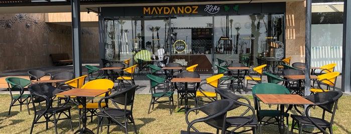 Maydanoz Köfte Sahil Yaşam Parkı ( Beach Park ) is one of Barış'ın Beğendiği Mekanlar.