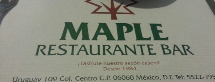 Restaurante Bar Maple is one of Posti che sono piaciuti a Erendy.