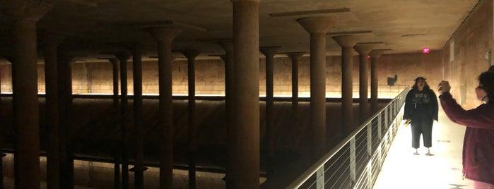 Buffalo Bayou Cistern is one of Houston.